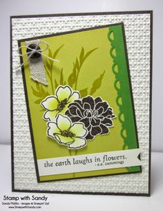 Stamp With Sandy: Fabulous Florets for STS21