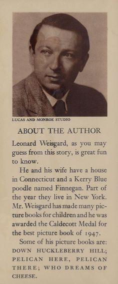 Bio from The Clean Pig, Leonard Wisegard
