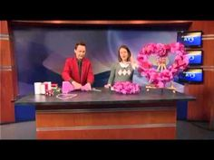 KY3 House Helpers - JEREMY RABE- Valentines Wreath