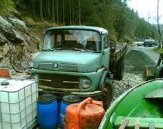 mercedes benz truck in norway