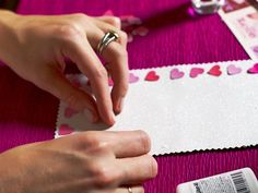 Craft Your Heart Out - Host a Valentine's Day Card-Making Party on HGTV