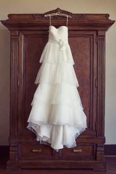 4 tiered wedding gown. designer unknown. #Vestidos de #novia