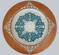 Plate #43 comes in sizes 35cm, 43cm & 48cm all of our terracotta is on our website www.romeocuomoceramics.com