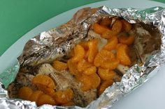 A Year of Slow Cooking: Orange Honey Tilapia Slow Cooker Recipe, fish in a crockpot!!