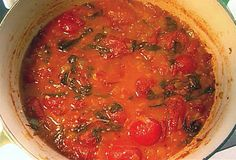 Roasted Tomato Basil Soup from FoodNetwork.com