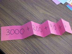 Love this for teaching place value!