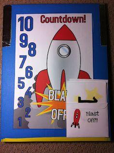 Space Unit- lapbook, file folder games, books, printable resources.