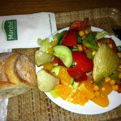 #vegan lunch @zurich airport