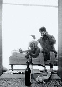 Marilyn Monroe. Bert Stern. (During a certain famous photo shoot, 1962.)