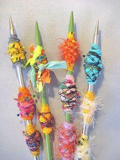 textile beads, fabric beads tutorial, idea, crafti, art, fabric bead tutorial, fiber, jewelri, diy accessori