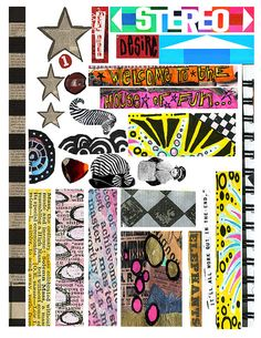 Zettiology Digital Collage Sheet - FREE TO USE