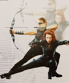 Hawkeye and Black Widow. these two need their own movie!
