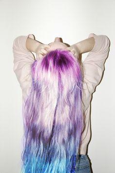 pastels, hair colors, mermaid hair, ombre hair, blue hair, beauti, pastel hair, rainbow, dip dye