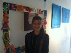 One of Art Therapy Interns running a group working with kids through Los Alamos Family Council!
