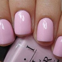 OPI ~ MOD ABOUT YOU ~ Opaque Pale Pink Creme Nail Lacquer Polish