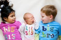Big sis/Little bro or sis shirts