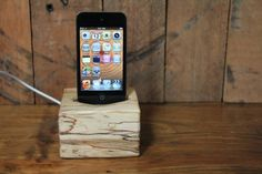 iPod docking station by Jessie Hirt of The Woodlot $65 #starpicks #OOAKX11  #Meetourstars