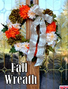 Fall Wreath | Pink P