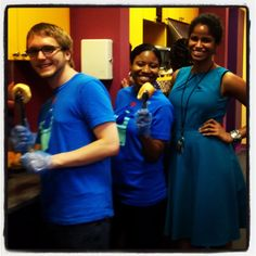 @Bigfish team volunteering at @RMH Memphis - such inspiring kids, families and staff.