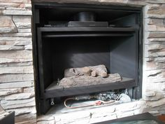 Home is Where my Heart is: Spring Cleaning - The Gas Fireplace