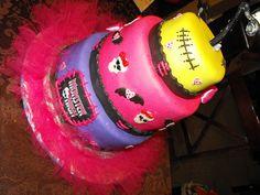 Monster High Cake by curlytop2010, via Flickr