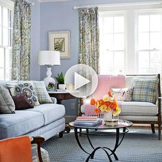 Give your living room the makeover it needs with our easy tips here: http://www.bhg.com/videos/m/83899771/give-your-living-room-a-makeover.htm?socsrc=bhgpin080614giveyourlivingroomamakeover
