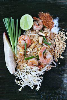 Thai food.Pad Thai