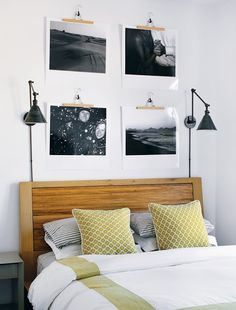 sabbespot: Boston Home Magazine - easy way to hang artwork.....
