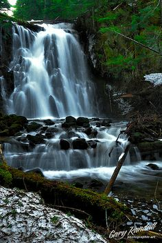 *Yocum Falls - Oregon* #waterfalls #scenic #nature #photography