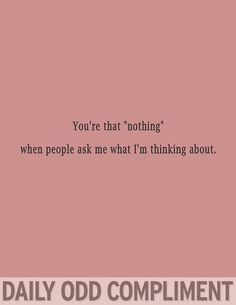 oh, nothing:)