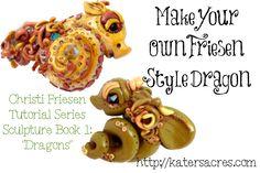 Christi Friesen's Book 1 Dragons: Tutorial to Create Your Own Wendyll Dragon