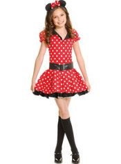 Teen Girls Miss Mouse Costume, $39.99