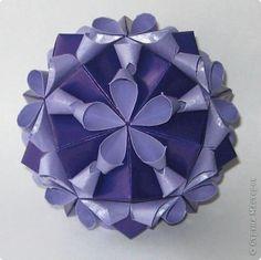 Кусудама Мастер-класс Оригами Кусудама Valentine + МК Бумага фото 1