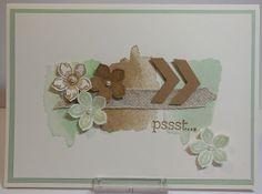 Happy watercolor, Petite Petals bundle,  CASE from pinterest.