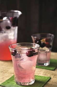 the chew | Recipe  | Carla Hall's Cranberry Soda