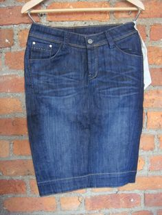 Kuyichi denim pencil skirt howies only £15