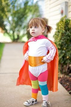 Ack, I must do this for Emersyn!  She loves wearing B's capes!
