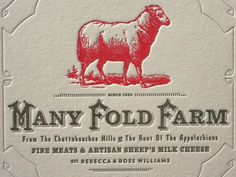 Many Fold Farm Business Cards   Design: Studio On Fire   Client: Studio On Fire   Image 4 of 5