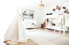 Create this look with a Moozle BIG teepee.