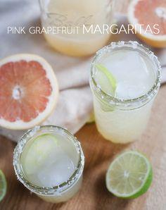 pink grapefruit margarita | www.prettyplainjanes.com