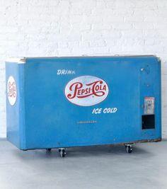 Vintage Pepsi Cooler | Patina