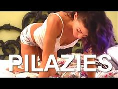 PILAZIES with @Kym NonStop - a workout that you can do in bed. Cast friendly. pilazi, pilates in bed, workout in bed