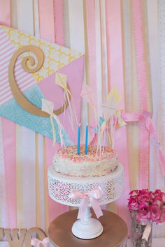 Kite-Themed Birthday Party - lots of ideas here! - Project Nursery