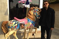 """""""Oh, ye of little faith. If i say i'm going to post a photo of myself naked on a horse, i am damn-well gonna do it."""" - Misha Collins."""