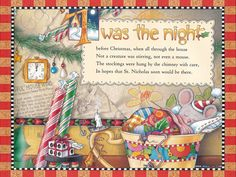 Twas the night....by Mary Engelbreit ®