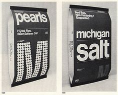 Michigan Salt packaging.  from: http://www.flickr.com/photos/tommy_c/2105184616/