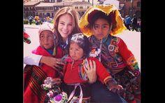 FOTOS: Paola Oliveira, Antonio Fagundes y otros actores brasileños graban en el Cusco