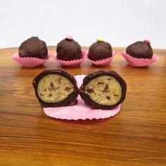 Cookie Dough Cake Balls
