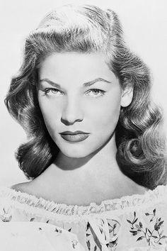 Lauren Bacall, 1945.
