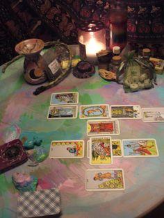 Divination:  Tools for divination.